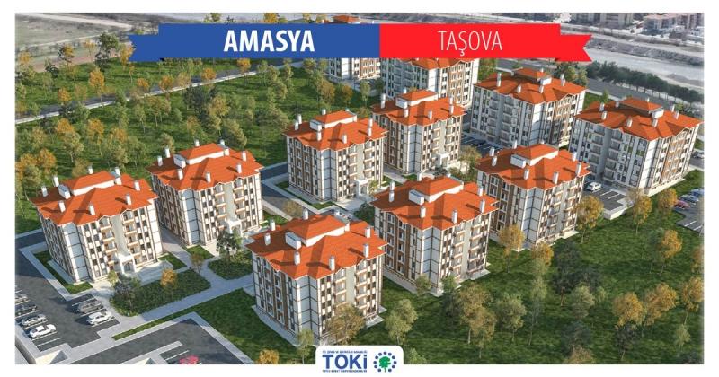 Taşova TOKİ'de Sona Yaklaşıldı