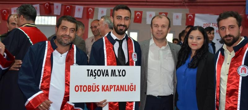 Taşova Yüksel Akın Meslek Yüksek Okulu Mezuniyet Töreni