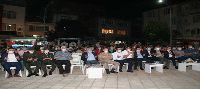 Taşova'da 15 Temmuz Milli Birlik Günü Etkinlikleri Düzenlendi