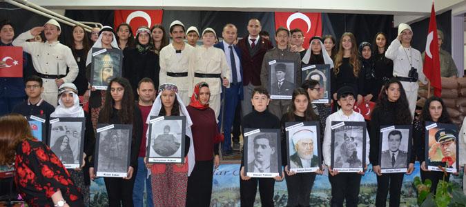 Taşova'da, 18 Mart Şehitleri Anma Günü ve Çanakkale Deniz Zaferinin 103. yılı düzenlenen törenlerle kutlandı.