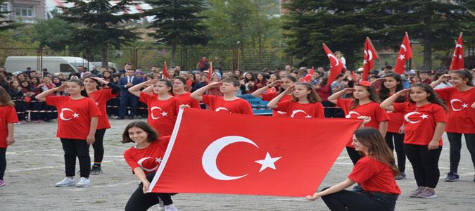 Taşova'da 29 Ekim Cumhuriyet Bayramı Çoşkuyla Kutlandı