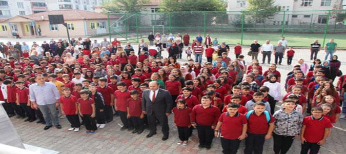 Taşova'da 4 Bin 300 Öğrenci İçin İlk Zil Çaldı