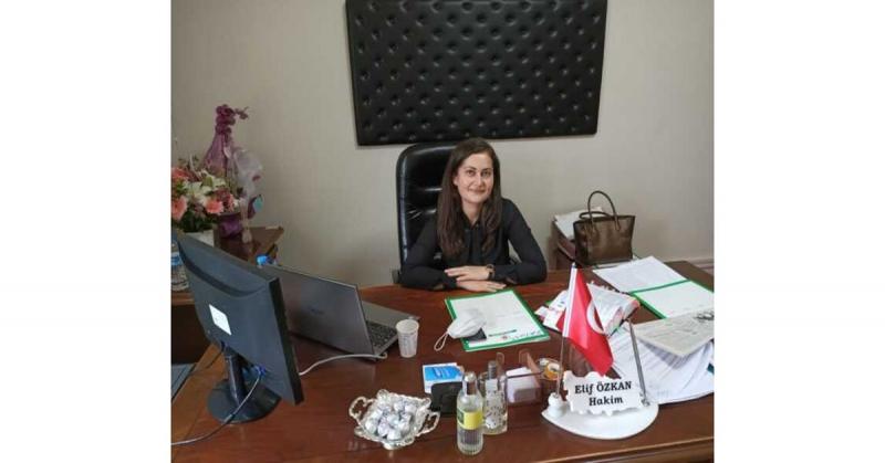 Taşova'da Boş Bulunan Hakimlik Kadrosuna Hakim Elif Özkan Atandı