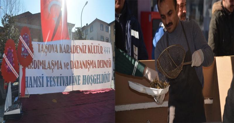 Taşova'da Hamsi Festivali Gerçekleştirildi