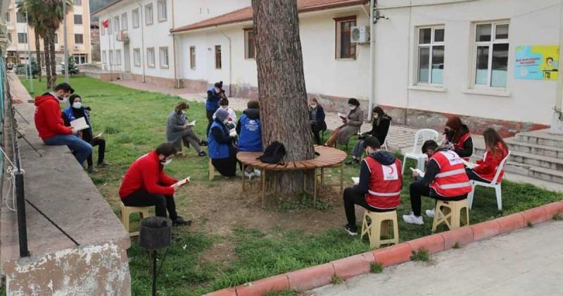 Taşova'da 'Kitap Okuma' Programı gerçekleştirildi