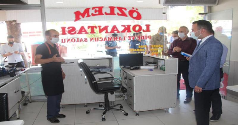 Taşova'da Koronavirüs Denetimleri Gerçekleştirildi