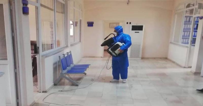 Taşova'da Koronavirüs Dezenfekte Çalışmaları