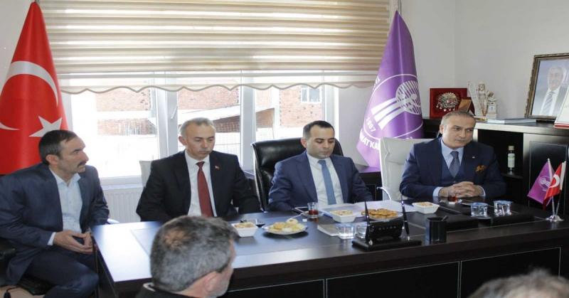 Taşova'da Kurulması Planlanan Yeni Sanayi Bölgesi ile İlgili Toplantı Düzenlendi