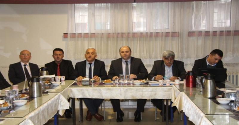 Taşova'da Okul Müdürleri Toplantısı Yapıldı
