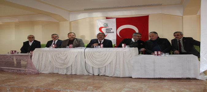 Taşova'da Pancar Ekimi Konusunda İstişare Toplantısı Düzenlendi
