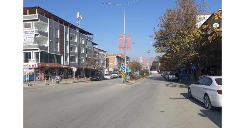 Taşova'da Sokaklar Boş Kaldı