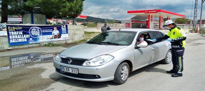 Taşova'da Trafik Haftası Etkinlikleri