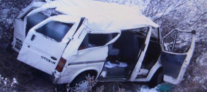Taşova'da Trafik Kazası 6 Kişi Yaralandı