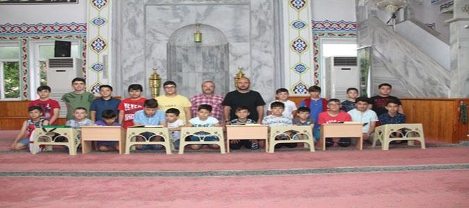 Taşova'da Yaz Kuran Kursları Başladı