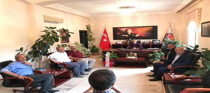 Taşovalılar Kültür Yardımlaşma ve Dayanışma Derneğin'den Başkan Öztürk'e Ziyaret