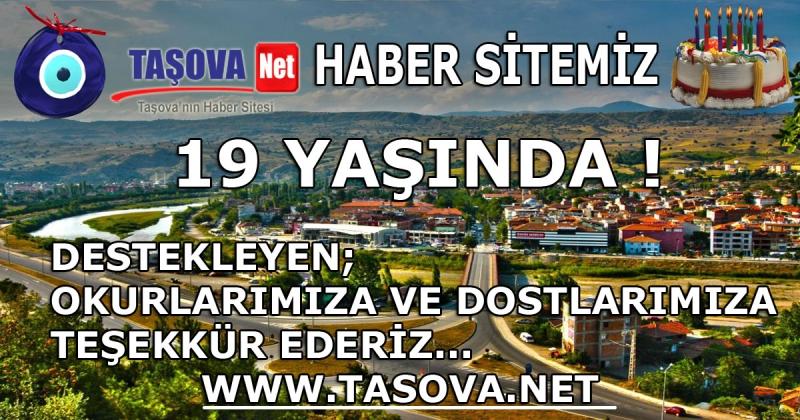 Tasova.net 19 Yaşında