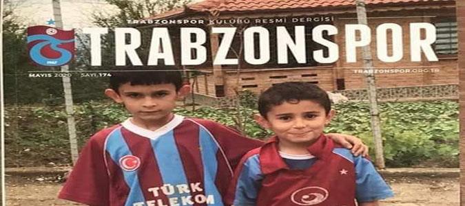 Trabzonspor Dergisine Kapak Resmi Oldular