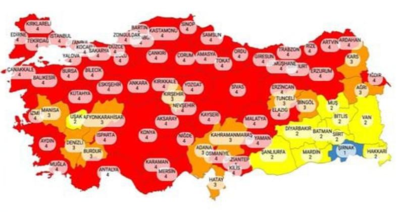 Türkiye'de Covid-19 Vaka Sayılarında Artış Sonrası, Hafta Sonları Tam Kısıtlama Var