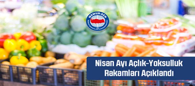 Türkiye'deki 4 Kişilik Bir Ailenin Açlık Sınırı 2.492,5 TL Oldu