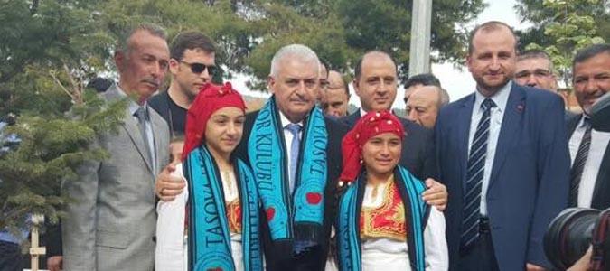Ulaştırma Bakanı Binali Yıldırım Taşova 'da Ziyaretlerde Bulundu..