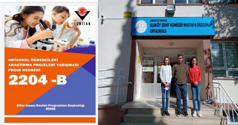 Uluköy Şehit Komiser Mustafa Düzgün Ortaokulu Öğrencilerinden Büyük Başarı