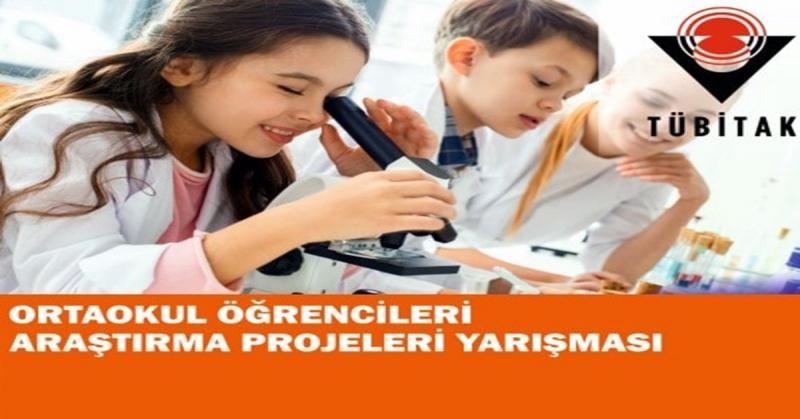 Uluköy ŞKMD Ortaokulu TUBİTAK Araştırma Projeleri Bölge Finalinde