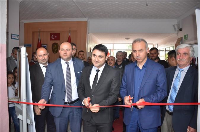 Uluköy'de Bilim Fuarı Açıldı