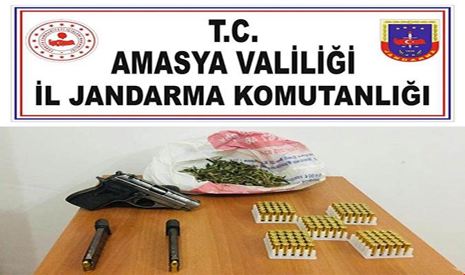 Uyuşturucu Madde ve Yasadışı Silah Bulundurmaya Yönelik Operasyon Yapıldı