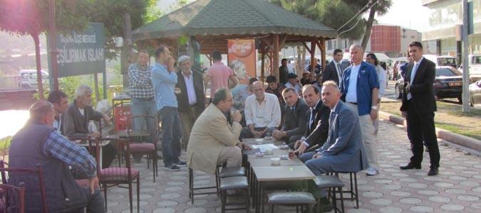 Vali Salih IŞIK Taşova'da Ziyaretlerde Bulundu..