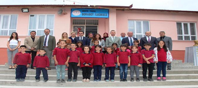 Vali Varol'un Eşi Funda Varol Boraboy İlkokulu'nu Ziyaret