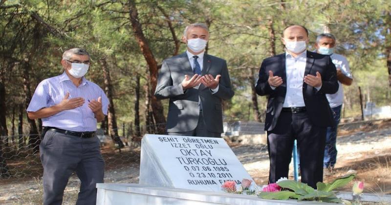 Vefatının 9. Yılında Mezarı Başında Anıldı
