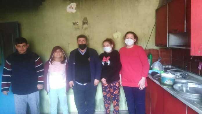 Yaylasaray'da Ev Yangını