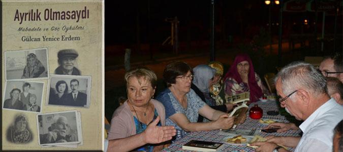 Yazar Gülcan Erdem Taşova'lı Mübadillerle