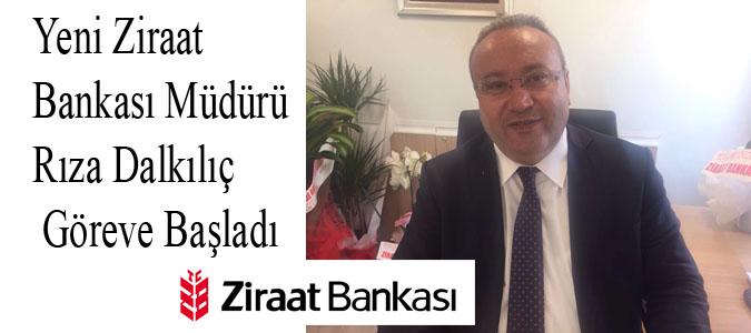 Yeni Ziraat Bankası Müdürü Göreve Başladı