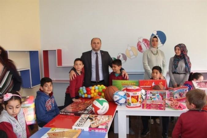 Yerkozlu'ya Zeka Oyunu Sınıfı Açıldı