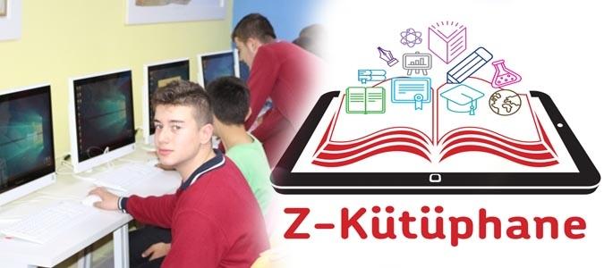 Z Kütüphane Atatürk Okulunda Açıldı..
