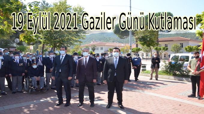 19 Eylül Gaziler Günü Töreni Kutlaması