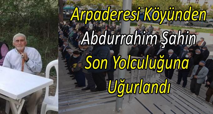 'Şahin' Hayatını Kaybetti. Köyünde Toprağa Verildi...