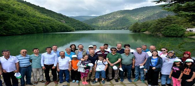 Amasya Orman Bölge Müdürlüğü Boraboy'da Doğa Yürüyüşü Düzenledi