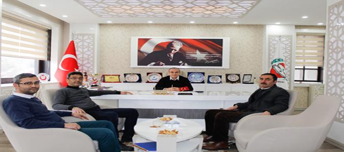 ATSO Başkanı Kırlangıç'a Taşova Esnaf Odasından Ziyaret