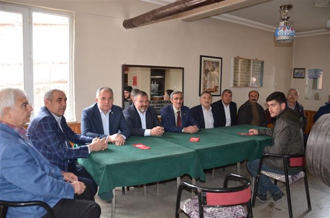 CHP Köy Ziyaretlerine Devam Ediyor