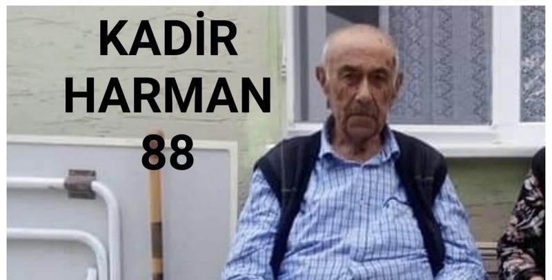 Dereli köyünde Kadir Harman vefat etti