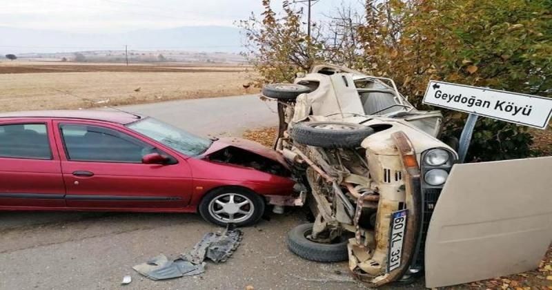 Dereli'de Trafik Kazası: 6 Yaralı