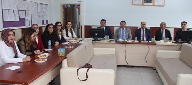 Eğitim Toplantısı Süleyman Bursalı Sağlık Lisesinde Yapıldı