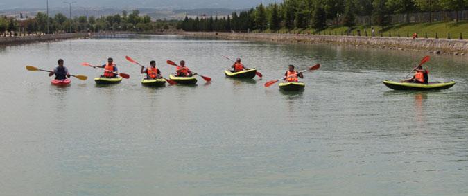 Erbaa'da Kano ve Doğa Sporları Kulübü yılın ilk etkinliğini gerçekleştirdi