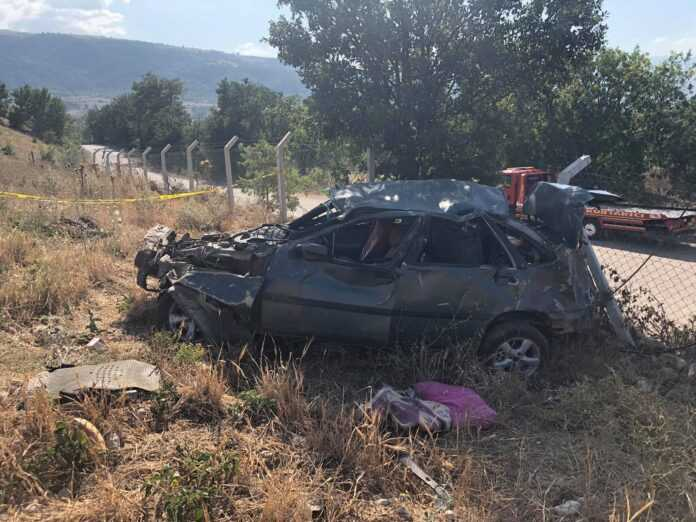 Gemibükü Kavşağında Trafik Kazası:1 Ölü 2 Yaralı