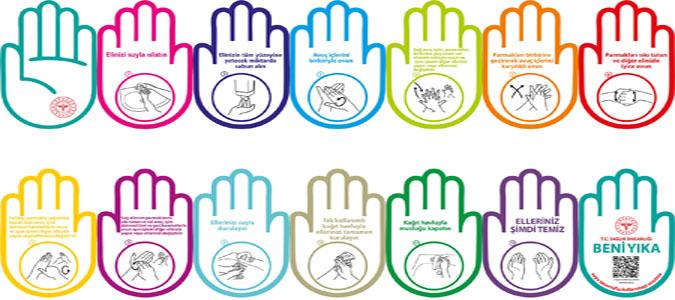 Hijyen Ellerin Doğru Yöntem ile Yıkanmasıyla Sağlanır