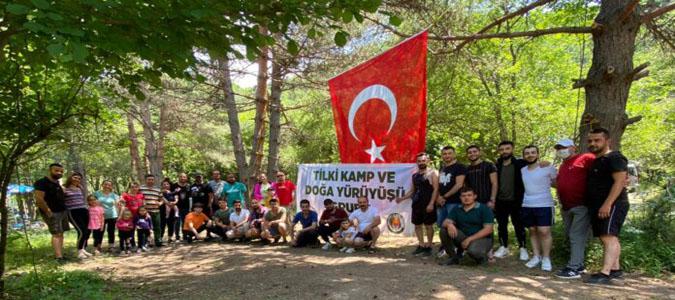 İlk Kamp Etkinliklerini Boraboy Gölü Kamp Alanında Gerçekleştirdiler