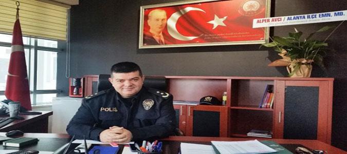 Konya'nın Kulu İlçesine Taşovalı Emniyet Müdürü