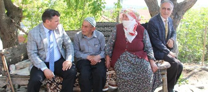 Kaymakam Kudret Kurnaz'dan Şehit Ailelerine Ziyaret